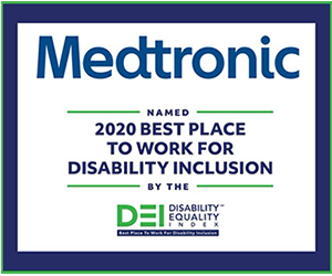 Medtronic cited as a Best Place to Work for Disability Inclusion