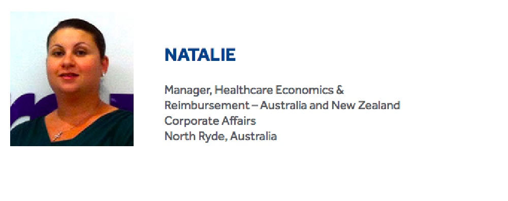 Natalie loves working with the 'passionate Medtronic family'