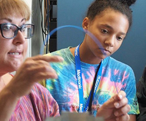 Medtronic helps young women explore technology careers