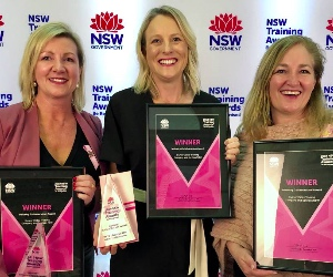 Service NSW wins Industry Collaboration Award for training