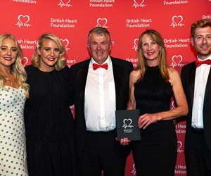 NTUs British Heart Foundation partnership scoops Hero Award