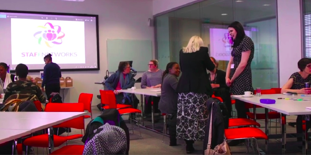 Nottingham Trent University equality networks support staff