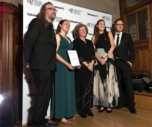 Nottingham Trent University wins award for Teaching Excellence