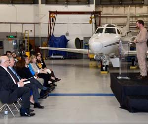 Northrop Grumman donates aircraft to inspire STEM education