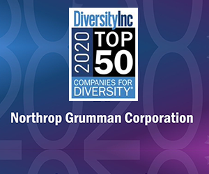 Northrop Grumman ranks highly in Diversity Inc Top 50