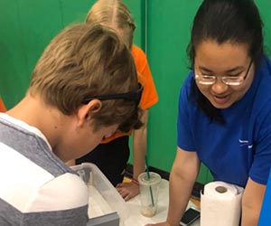 Space Camp; CyberPatriot: STEM group help by Northrop Grumman