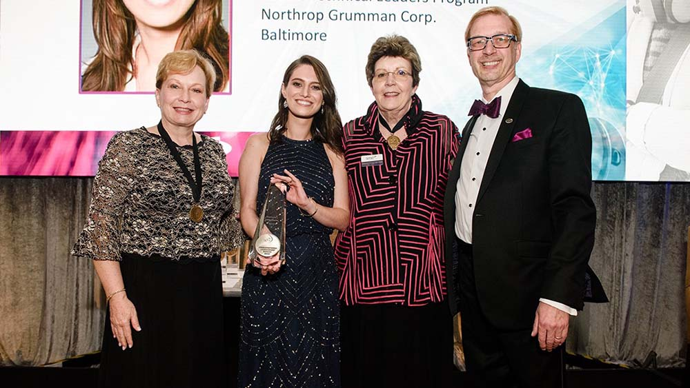 Northrop Grummans Stephanie Locks-Hartle awarded