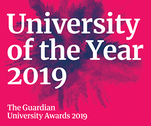 Nottingham Trent University Guardian University of the Year
