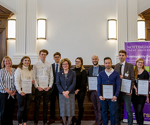 Nottingham Trent University Placement Students Winners