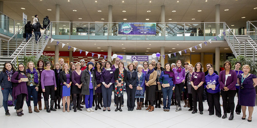 Nottingham Trent University International Women's Day
