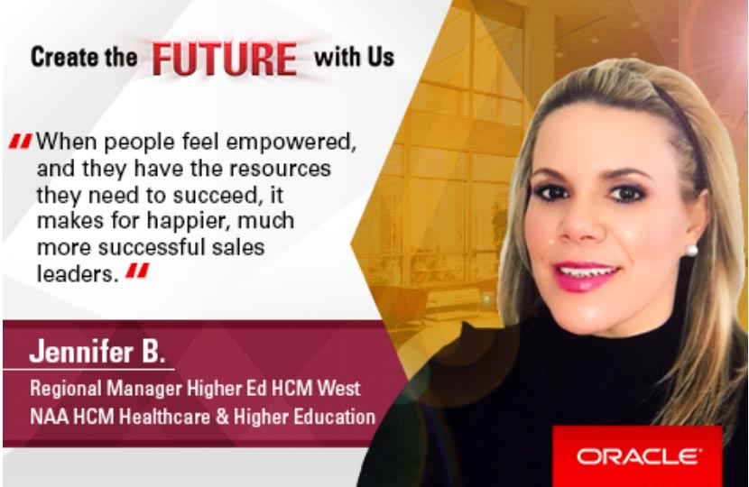 Oracle women feel very empowered in their careers