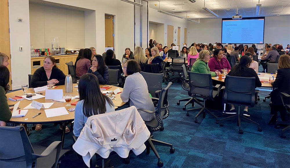Oracle Womens Leadership hosts IWD mentor and expert panel