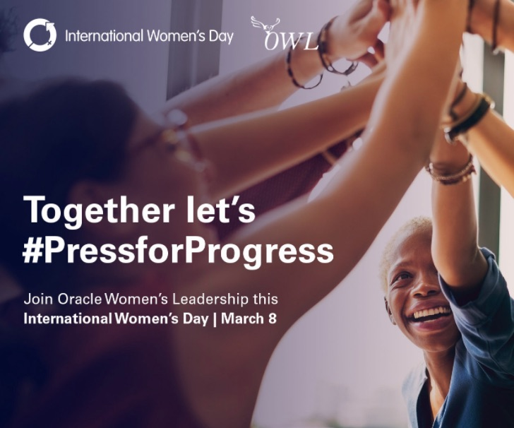 Oracle press for progress on Women's Day and beyond