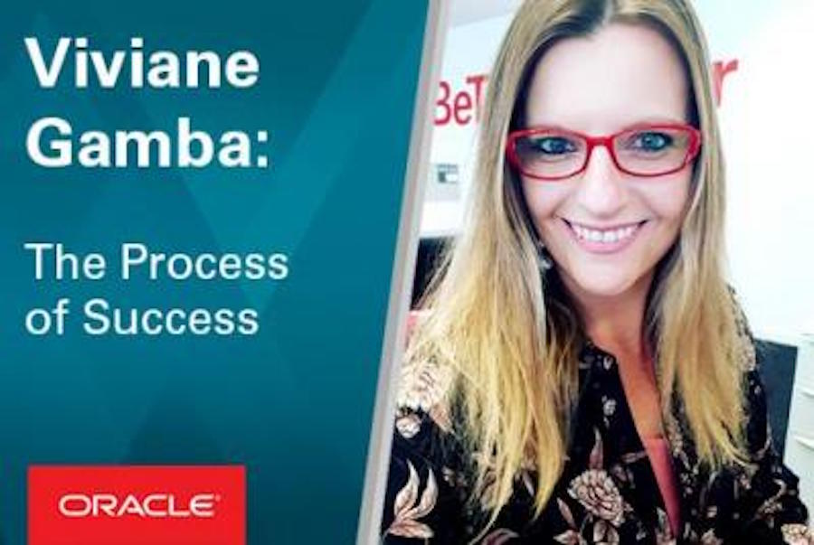 Viviane reveals how her finance role helps drive success at Oracle