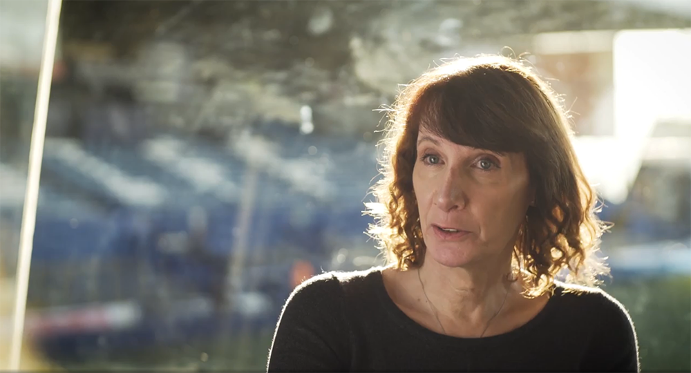 Cyclist Philippa York shares her transition story with Vodafone