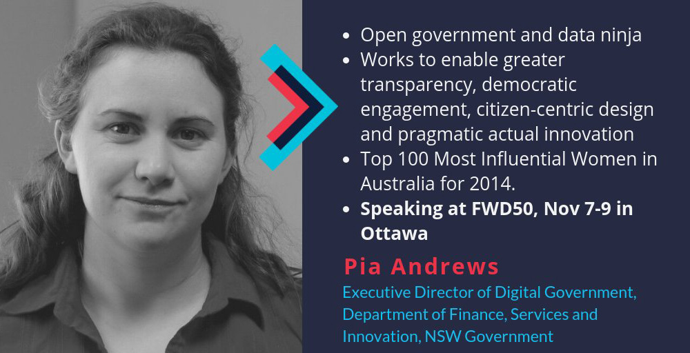 NSW DFSI welcomes Pia Andrews as Digital executive director