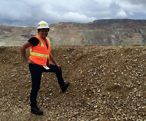For the love of learning: Rio Tinto's Christine excels