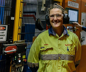 Small town, big job. Rio Tinto's Donna Stace has vision