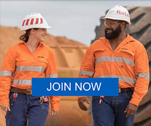 Join the global Rio Tinto Talent Network