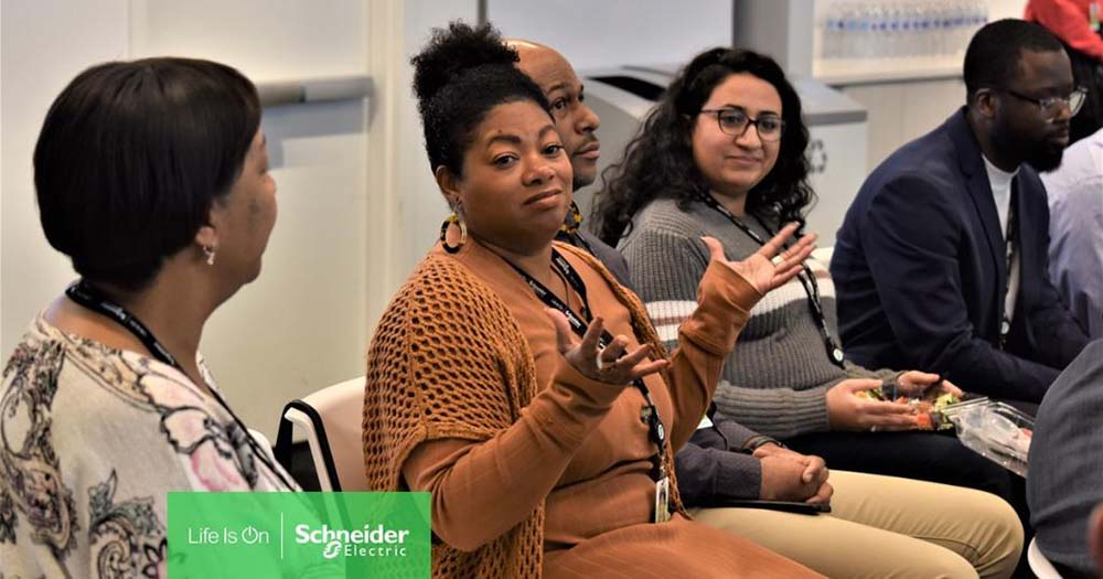 Schneider Electric celebrates employees diverse backgrounds
