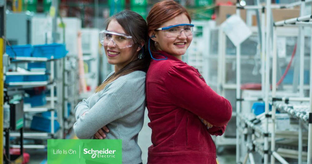 Schneider Electric is one of the Best Employers for Women