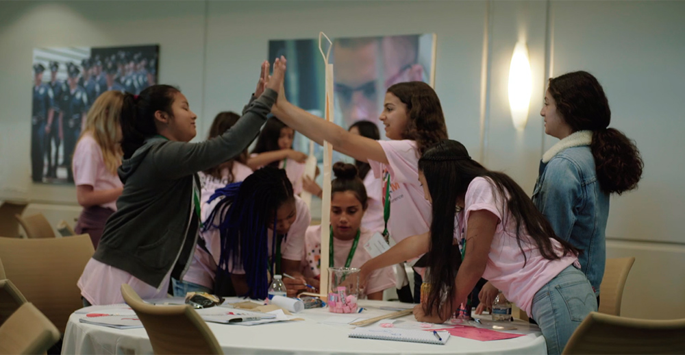 Schneider Electric partnerships support girls in STEAM