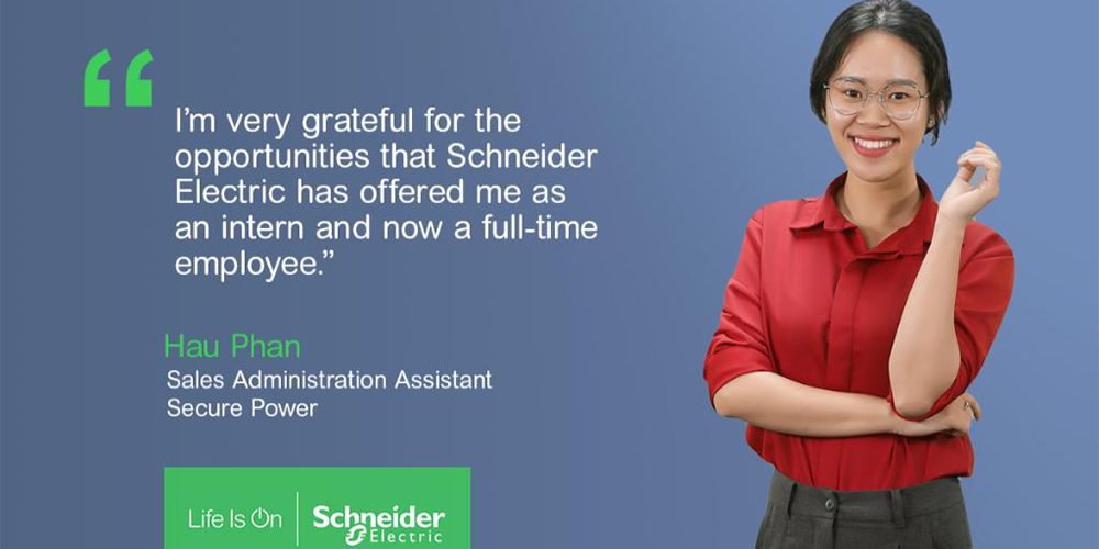 My Schneider Electric journey from Intern to Secure Power member