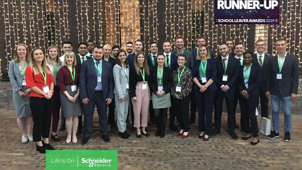 Schneider Electric is named a top engineering employer