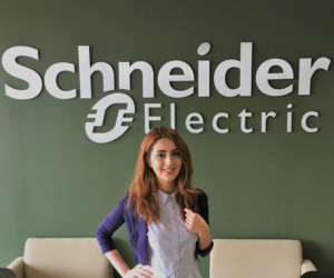 Interns show life is on working for Schneider Electric