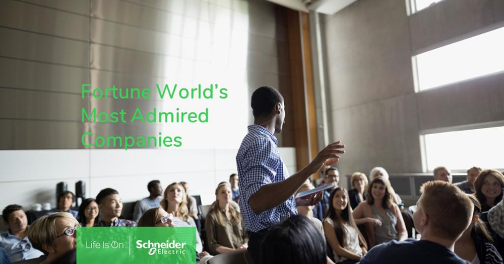 Schneider Electric is a Worlds Most Admired Company