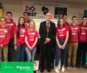 Schneider Electric inspires STEM careers through FIRST Robotics
