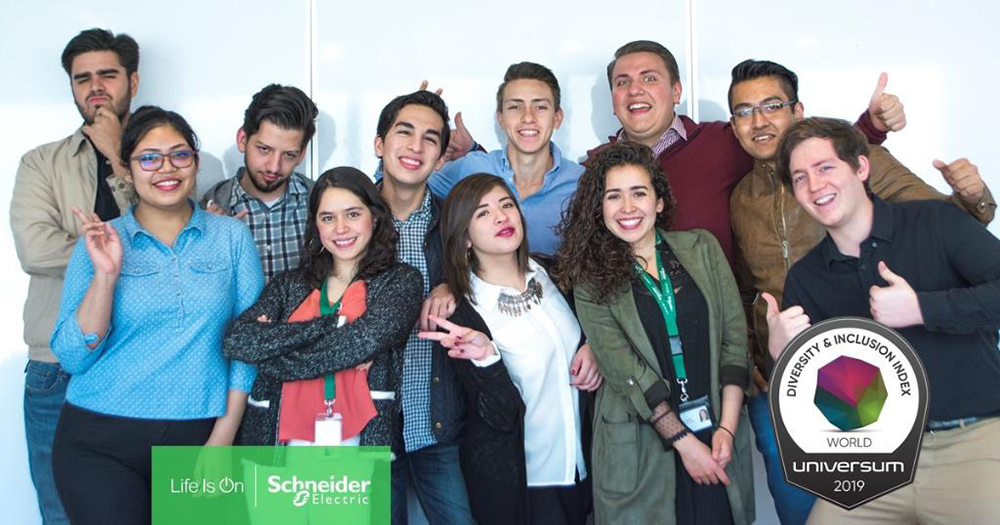 Schneider Electric in Universum Diversity & Inclusion Index