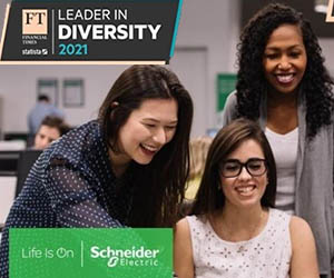 Schneider Electric Financial Times Diversity Leaders list