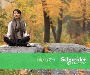 Schneider Electric mindfulness and wellbeing