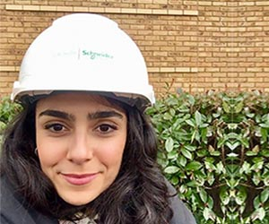 Nisrine Zeggaf works in Schneider Electrics Power Solutions