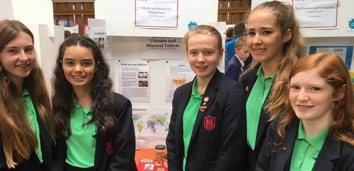 All girl team wins Schneider Electrics Eurotherm sponsored science event