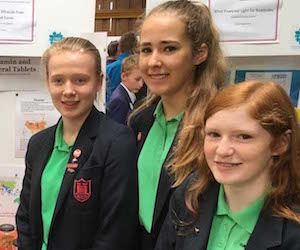 Girl team wins Schneider Electric Eurotherm science event