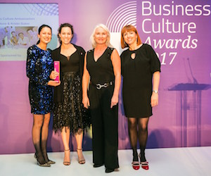 Schneider Electric take home Business Culture Awards