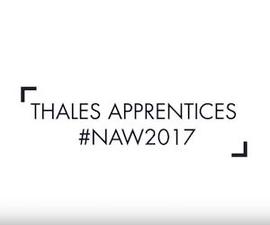 Thales offers amazing apprenticeships