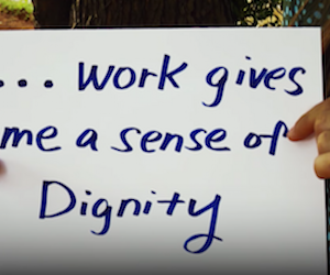 UNHCR supports womens right to decent work