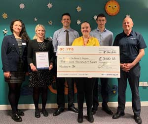 Spirax-Sarco Engineering supports childrens hospice via donation