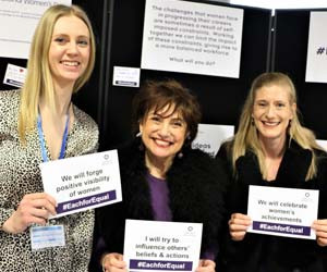 Spirax Sarco celebrates IWD with #EachforEqual pledges