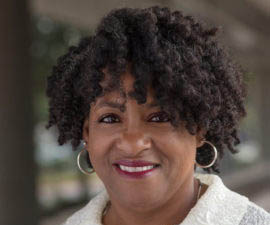McKesson Cynthia Strickland speaks at Girls in Tech conference