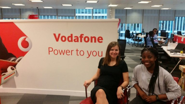 Vodafone supports mentoring girls into STEM and tech careers