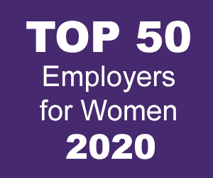 Times TOP 50 Employers for Women 2020