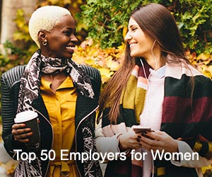 TOP 50 Employers for Women list