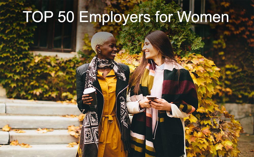 TOP 50 Employers for Women list (2006 - 2018)