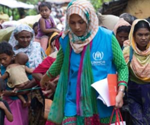 UNHCR marks World Refugee Day with strength and courage