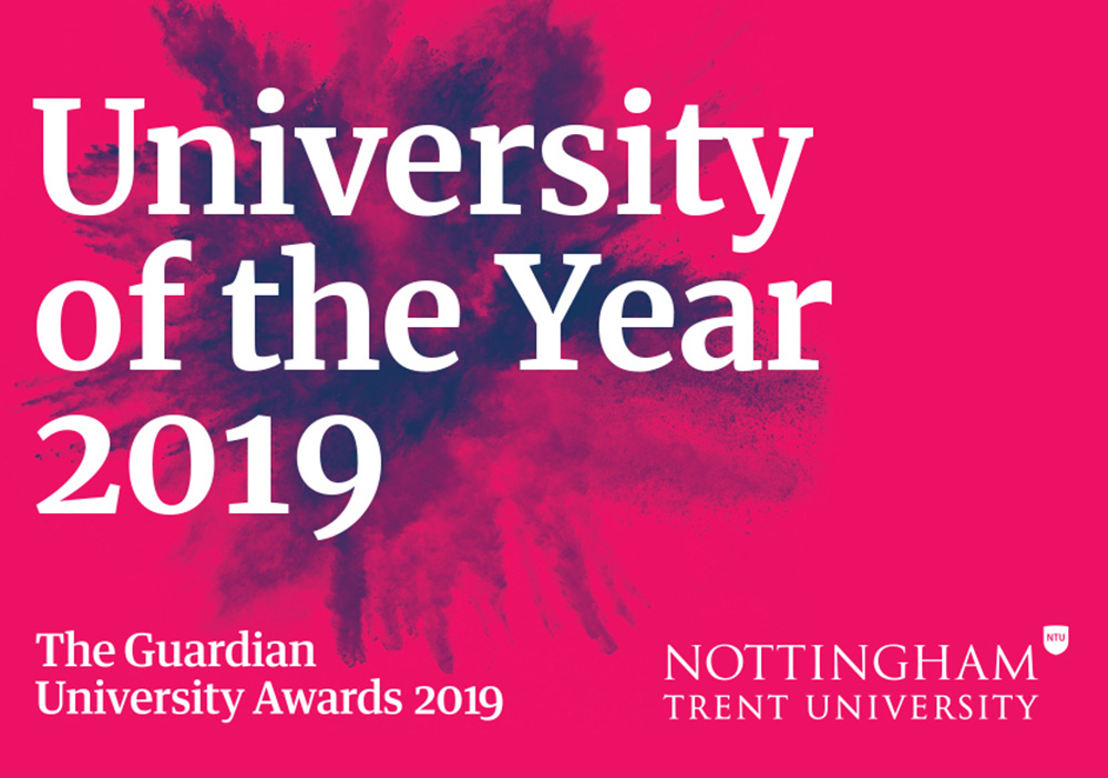 Nottingham Trent University named University of the Year