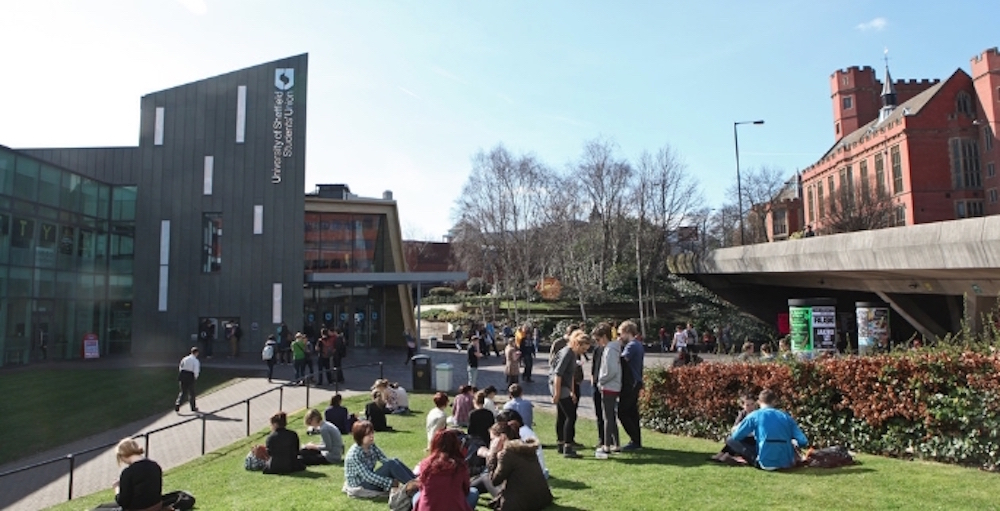 University of Sheffield in UK top ten for research grant funding